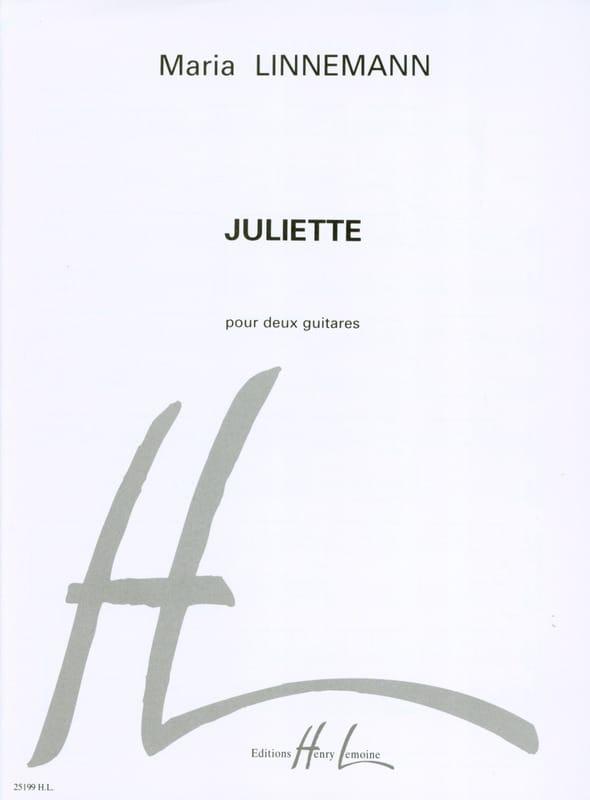Juliette - Maria Linnemann - Partition - Guitare - laflutedepan.com