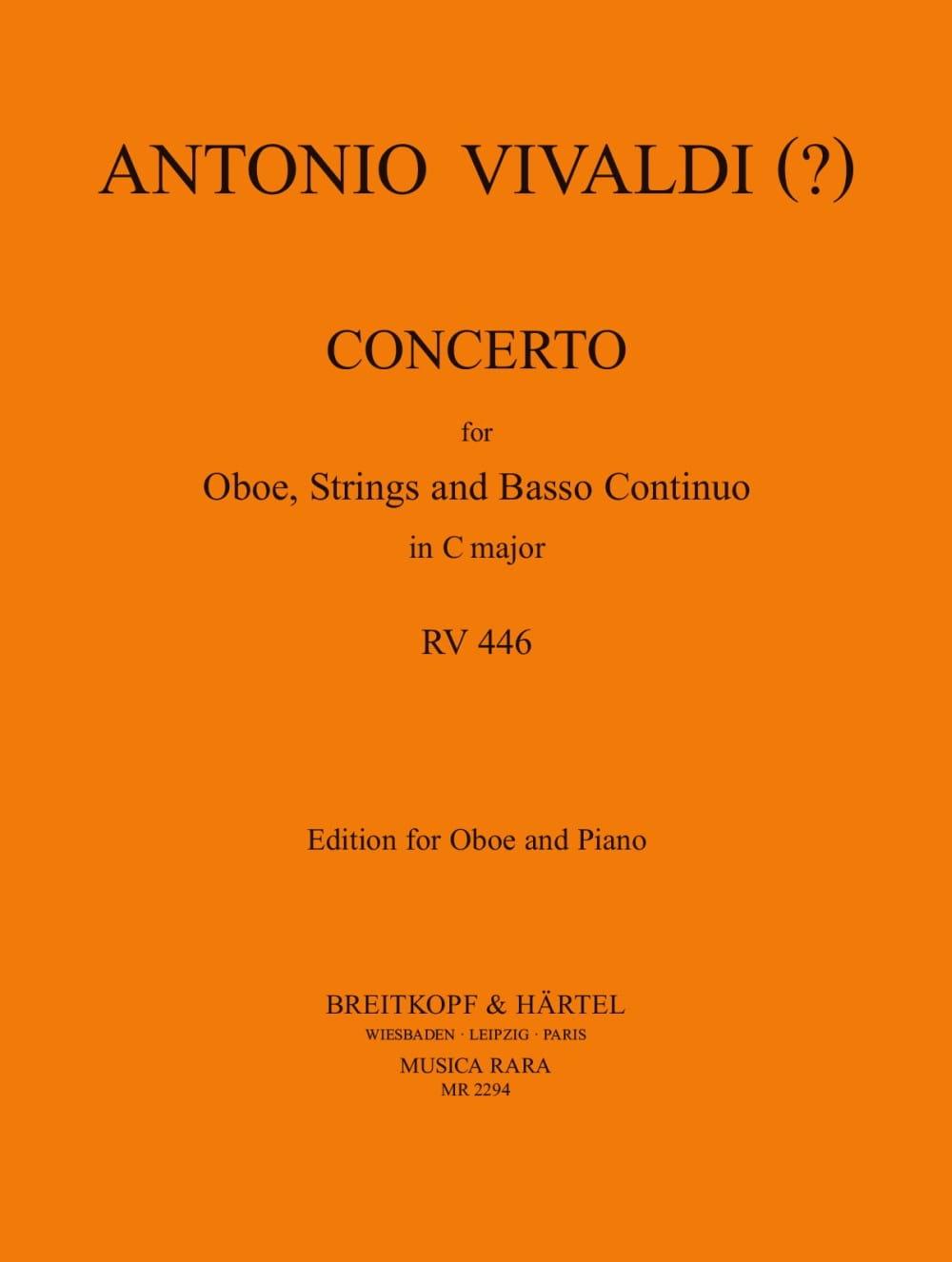 Concerto In C Major Rv 446 - VIVALDI - Partition - laflutedepan.com