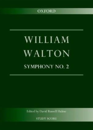 Symphonie n° 2 - William Walton - Partition - laflutedepan.com