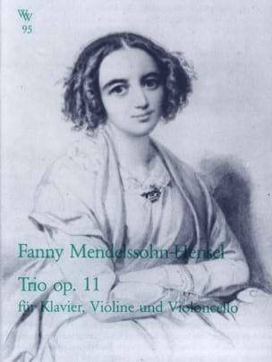 Trio en Ré Mineur Op.11 Fanny Hensel-Mendelssohn laflutedepan