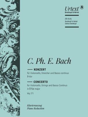 Concerto B Dur - Wq. 171 Carl Philipp Emanuel Bach laflutedepan