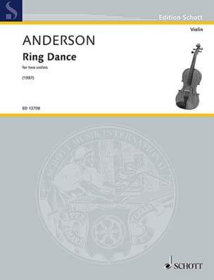 Ring Dance - 2 Violons Julian Anderson Partition Violon - laflutedepan