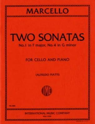 2 Sonates n° 1 et 4 - Benedetto Marcello - laflutedepan.com