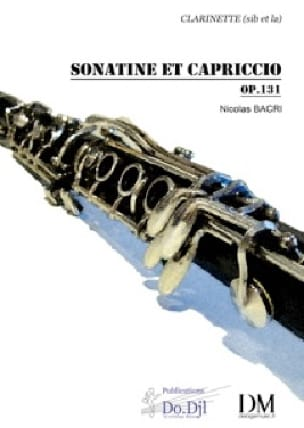Sonatine et Capriccio op 131 - Nicolas Bacri - laflutedepan.com