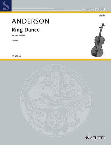 Ring Dance - 2 Violons - Julian Anderson - laflutedepan.com