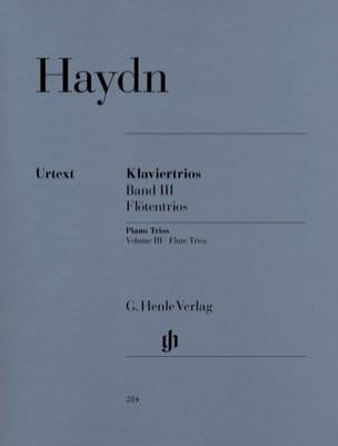 Trios avec piano, volume 3 pour piano, flûte ou violon et violoncelle laflutedepan