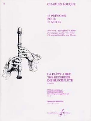 13 Prénoms pour 13 notes - Charles Fouque - laflutedepan.com
