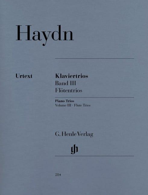 Trios avec piano, volume 3 pour piano, flûte ou violon et violoncelle - laflutedepan.com