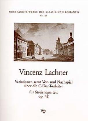 Variationen op. 42 -Streichquartett - Stimmen - laflutedepan.com