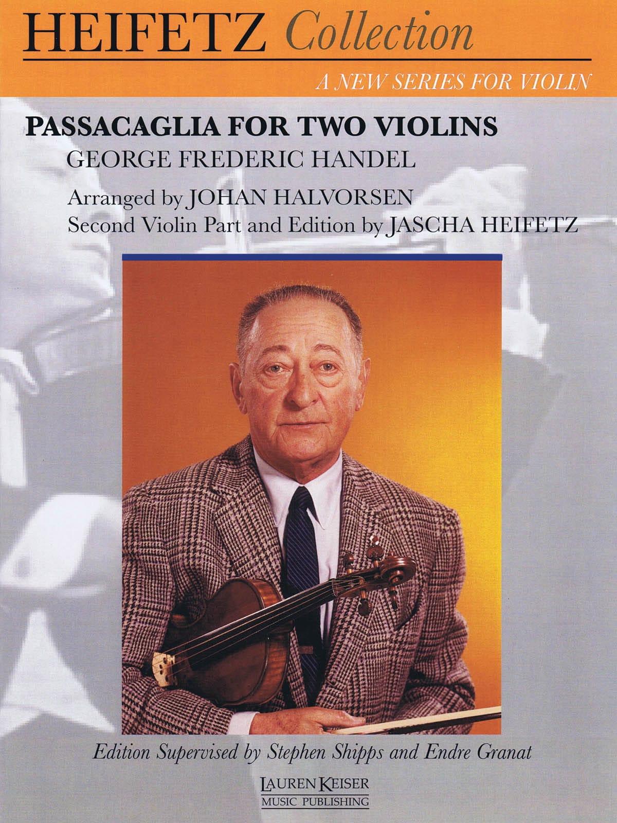 Passacaglia - HAENDEL - Partition - Violon - laflutedepan.com