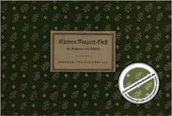 Kleines Mozart-Heft MOZART Partition Flûte à bec - laflutedepan