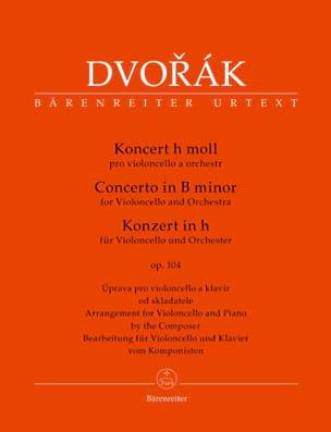 Concerto Pour Violoncelle en Si Mineur. Opus 104 DVORAK laflutedepan