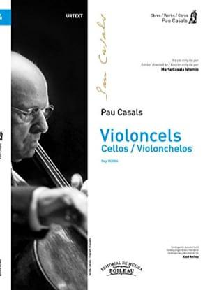 Violoncels - Orchestre de violoncelles Pablo Casals laflutedepan