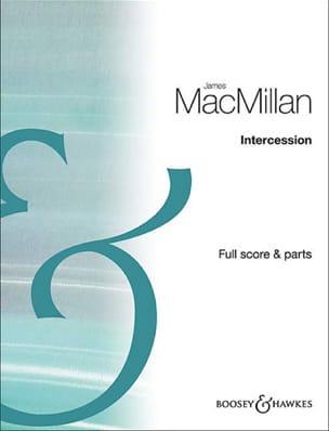 Intercession - 3 Hautbois James MacMillan Partition laflutedepan