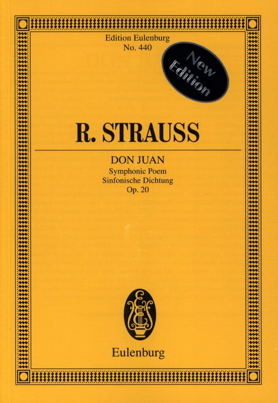 Don Juan - Richard Strauss - Partition - laflutedepan.com