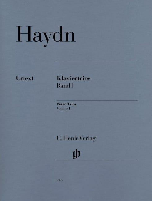 Trios avec piano, volume 1 - HAYDN - Partition - laflutedepan.com