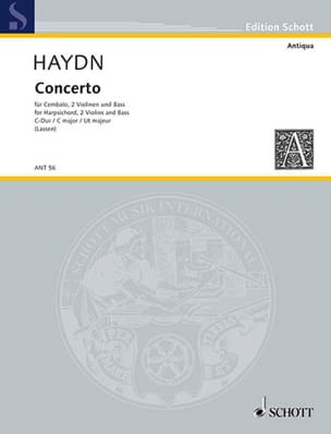 Concerto G-Dur Divertimento -Stimmen HAYDN Partition laflutedepan