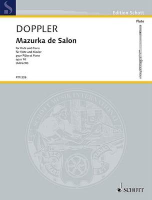 Mazurka de salon, op. 16 - Flûte et piano laflutedepan