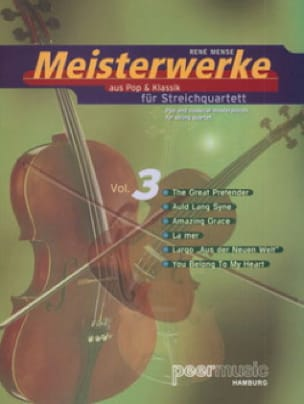 Meisterwerke For Streichquartett Vol.3 - laflutedepan.com