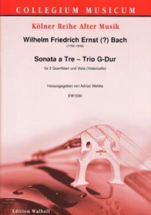 Sonata a Tre - Wilhelm Friedrich Ernst Bach - laflutedepan.com