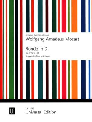 MOZART - Rondo in D Major Kv Anh. 184 - Partition - di-arezzo.co.uk