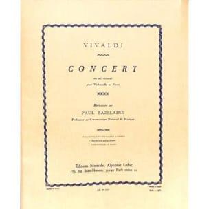 Concert En Mi Mineur - VIVALDI - Partition - laflutedepan.com