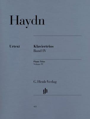 Klaviertrios - Bd. 4 : Hob. 15 : 18-26 HAYDN Partition laflutedepan