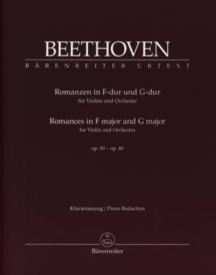 Romances en Fa Majeur Op. 50 et Sol Majeur Op. 40 laflutedepan