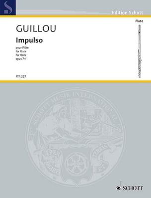Impulso, op. 74 - Flûte seule Jean Guillou Partition laflutedepan