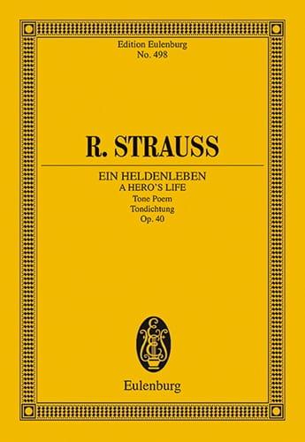 Ein Heldenleben Op.40 - Richard Strauss - Partition - laflutedepan.com