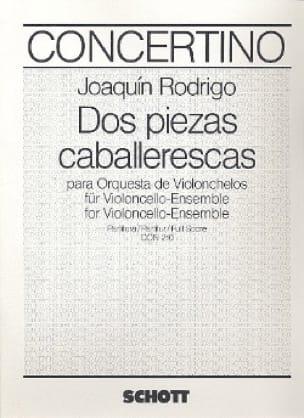 Dos piezas caballerescas - Partitur - RODRIGO - laflutedepan.com