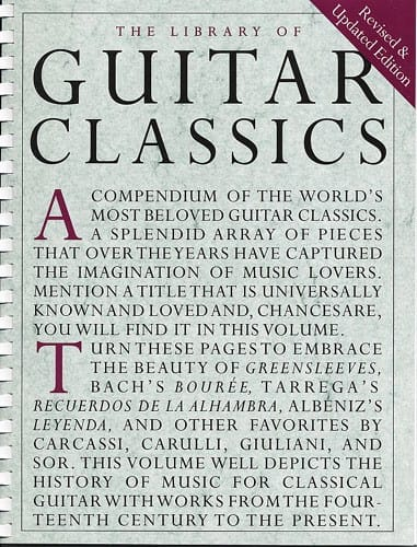 Library of Guitar classics - Partition - laflutedepan.com