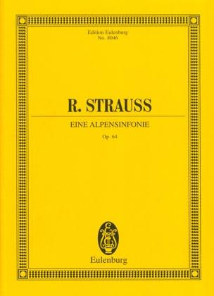 Eine Alpensinfonie op. 64 - Partitur Richard Strauss laflutedepan