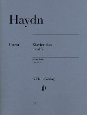 Trios avec piano, volume 5 HAYDN Partition Trios - laflutedepan