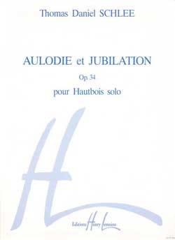 Aulodie et Jubilation op. 34 - Thomas Daniel Schlee - laflutedepan.com