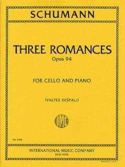 SCHUMANN - 3 Romances op. 94 - Partition - di-arezzo.co.uk