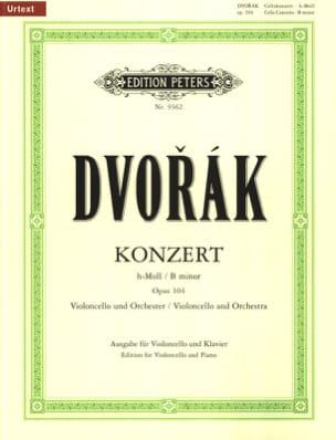 DVORAK - Cello Concerto If Minor, Op.104 - Partition - di-arezzo.com