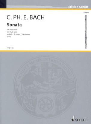 Sonate a-moll - Flöte solo - laflutedepan.com