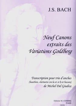 9 Canons extr. des Variations Goldberg -Trio d'anches laflutedepan