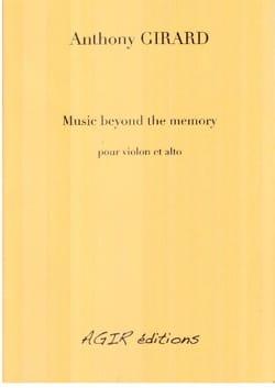 Music beyond the memory - Anthony Girard - laflutedepan.com