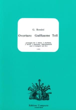Ouverture Guillaume Tell - 11 Vents - ROSSINI - laflutedepan.com