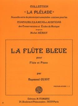 La Flûte bleue Raymond Guiot Partition laflutedepan