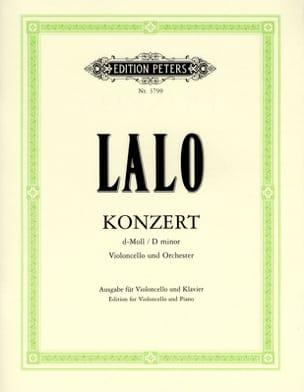 Concerto Violoncelle en ré mineur LALO Partition laflutedepan
