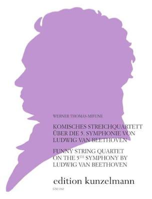 Komisches Streichquartett über die 5. Symph. von Beethoven laflutedepan