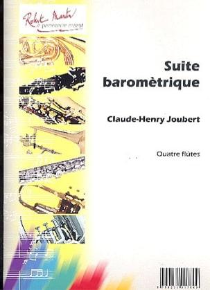 Suite barométrique Claude-Henry Joubert Partition laflutedepan