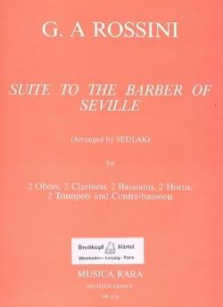 Le Barbier de Séville, Suite - 11 Vents ROSSINI Partition laflutedepan