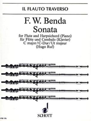 Sonate C-Dur - Flöte Cembalo Klavier laflutedepan