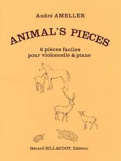 Animal's Pieces André Ameller Partition Violoncelle - laflutedepan