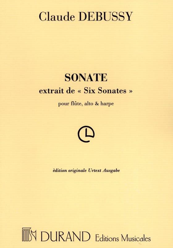 Sonate pour flûte, alto et harpe - Parties - laflutedepan.com
