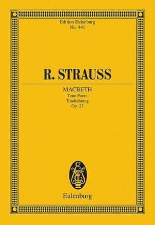 Macbeth, op. 23 Richard Strauss Partition Petit format - laflutedepan